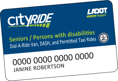 image of Cityride Card