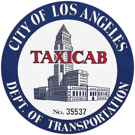 Picture of LADOT Taxicabseal